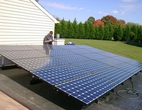 picture of 4.6 kW SunPower PV performance in Columbia, Maryland