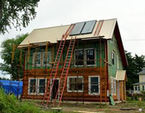10 Charles St. Greenfield; Super-insulated, Passive Solar, Net Plus Home