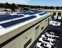 Commercial Solar PV in Live Oak