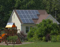 picture of Virginia Residential Solar Installation!