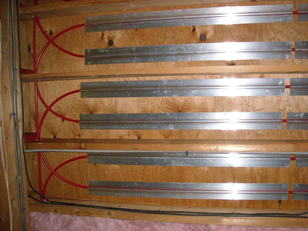 Geothermal radiant floor heat retrofit sanbornton nh Radiant floors