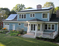 Solar Powered Home in Concord