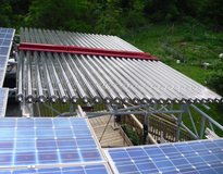 Picture of Loehr Solar Thermal Heating System
