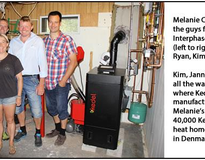Picture of Falmouth Daycare Saves over $1900 per year with pellet boiler & solar