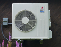 Ductless Mini-Split Heat Pump in a residential setting.