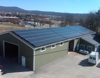picture of Commercial Solar Installation