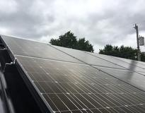 Picture of 7.3 kW solar PV array in St. Paul, MN