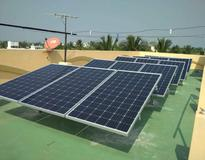 5KW Solar Panel Installation in Davangere Heart Hospital, Davangere, Karnataka by Loom Solar