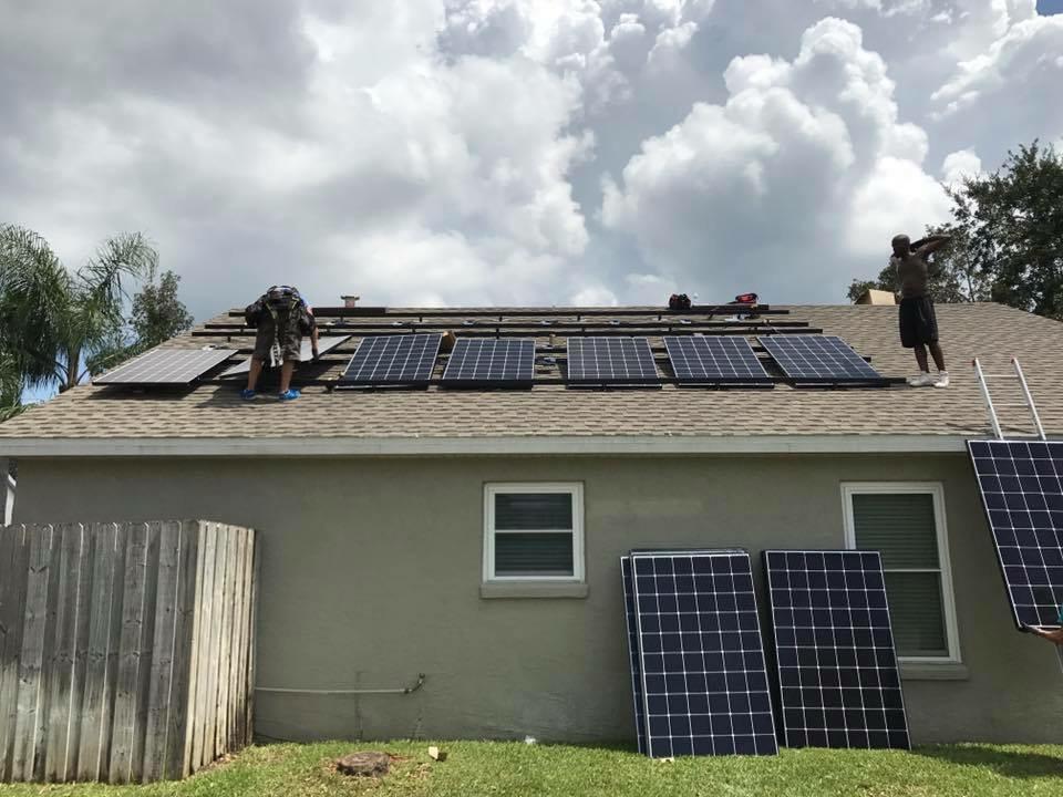 East Orlando Residential Solar 9 9kw Enphase Lg Energysage