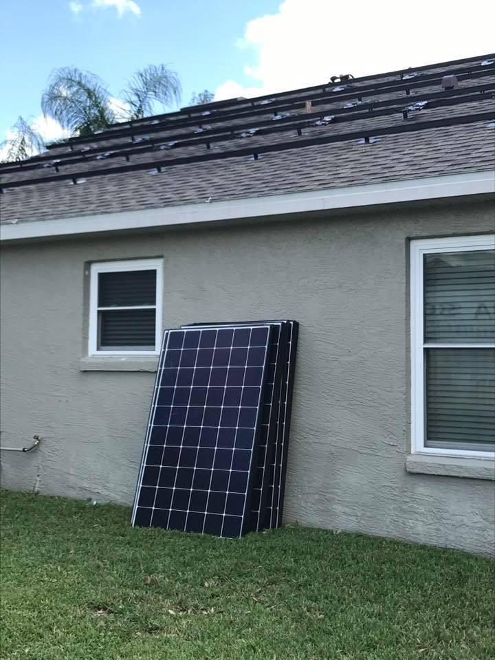 East Orlando residential solar 9 9KW Enphase LG | EnergySage