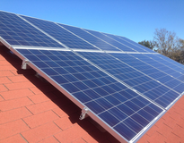 Picture of Newport Residential Solar Installation!