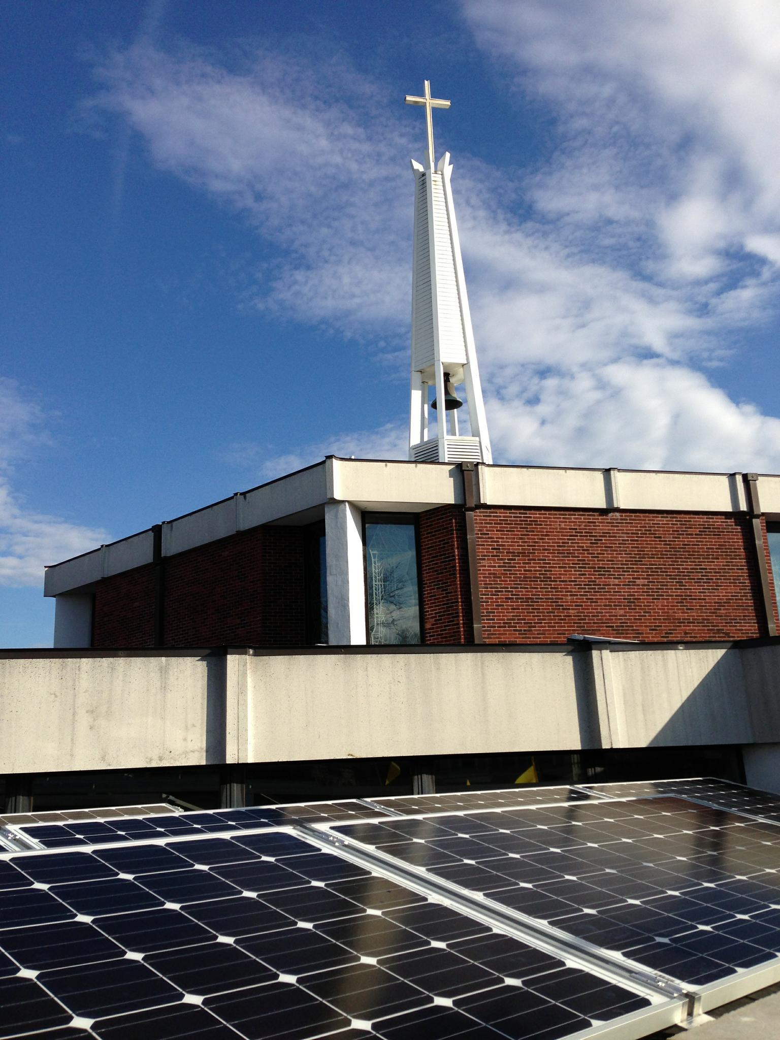 First Congregational Church Of Melrose Goes Solar