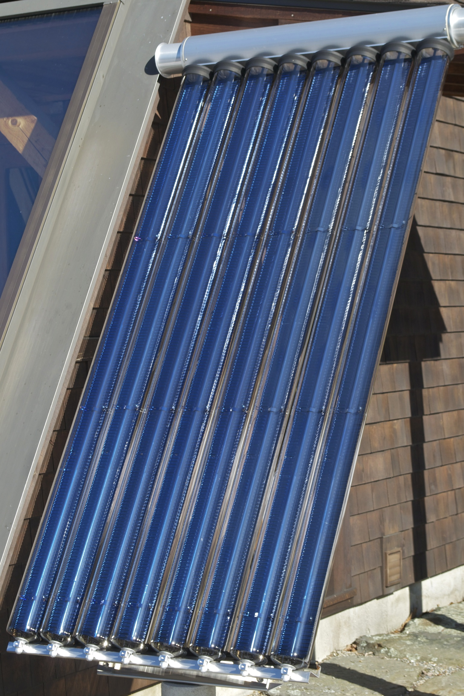 Evacuated Tube Solar Hot Water Heater Energysage