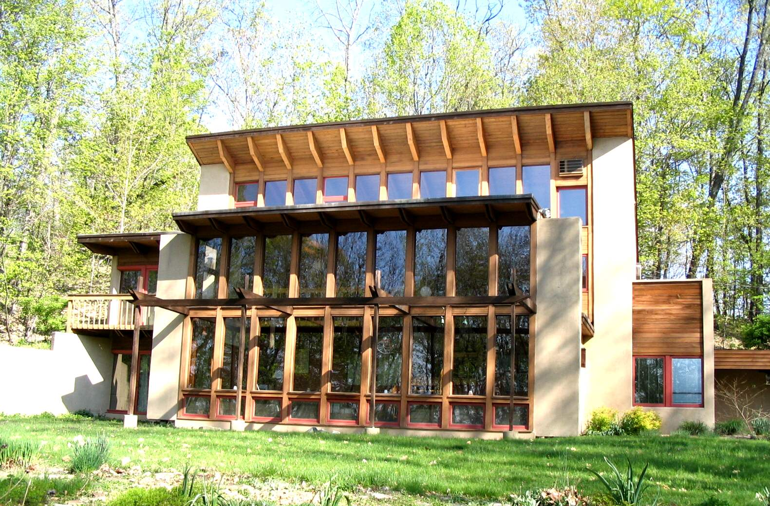Passive solar home energysage for Earth sheltered home design