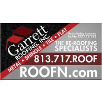 Garrett Roofing, Inc. logo