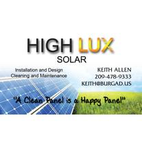 High Lux Solar logo