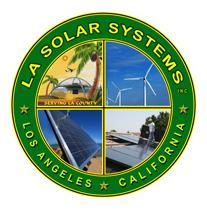 LA Solar Systems logo