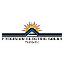 Precision Electric Solar logo