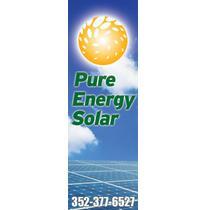 Pure Energy Solar logo