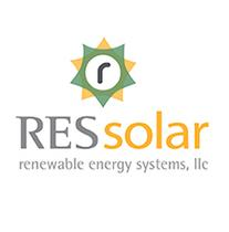 RES Solar logo