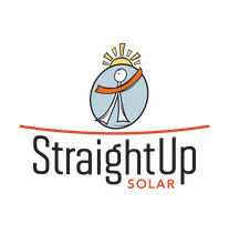 StraightUp Solar logo