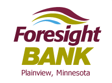 Foresight Bank logo