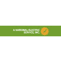 A National Electric Service, Inc. logo