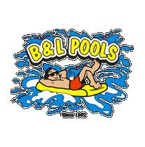B & L Pool Repair and Supply logo
