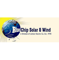 Blue Chip Solar and Wind logo