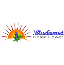 Bluebonnet Solar Power logo