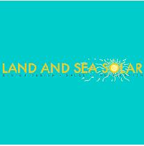 Land and Sea Solar logo