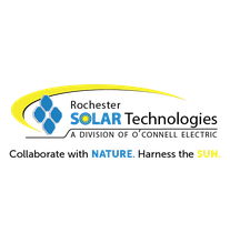 Rochester Solar Technologies (division of O'Connell Electric) logo