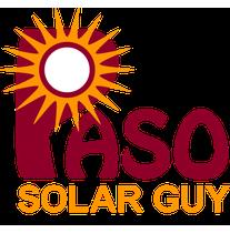 Paso Solar Guy logo