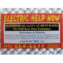 A 24 Electric Company logo