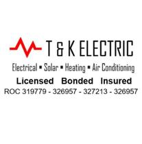 T&K Electric logo