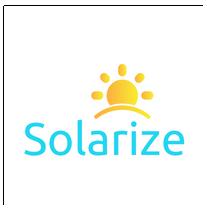 Solarize logo