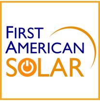 First American Solar logo
