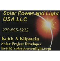 SOLAR POWER and LIGHT USA LLC logo