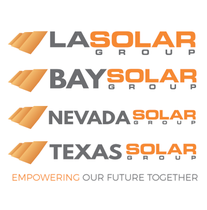 LA SOLAR GROUP, NEVADA SOLAR GROUP, TEXAS SOLAR GROUP logo