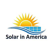 Solar in America. logo