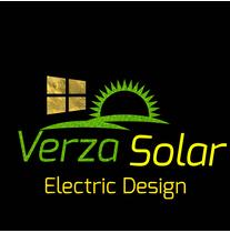 VERZA SOLAR ELECTRIC DESIGN logo