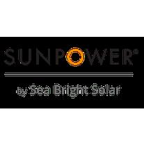 SunPower by Sea Bright Solar logo