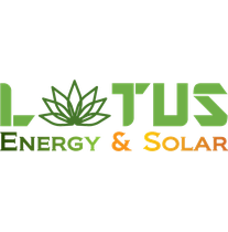 Lotus Energy and Solar logo