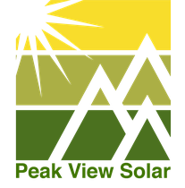 Peak View Solar logo