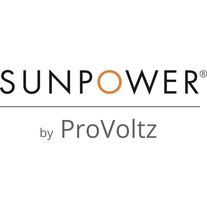 SunPower by ProVoltz logo