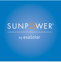 SunPower by esaSolar logo
