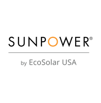 SunPower by EcoSolar USA logo