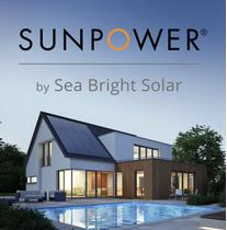SunPower by Sea Bright Solar logo