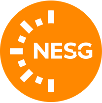 New England Solar + Green logo
