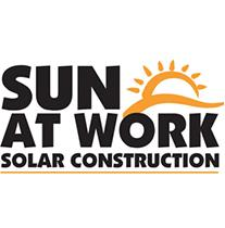 Sun At Work Solar Construction logo